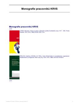 ve formátu PDF - KRVS - Univerzita Karlova v Praze