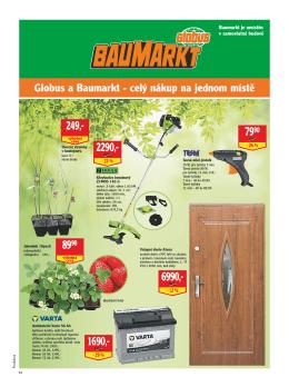 Globus a Baumarkt - celý nákup na jednom místě