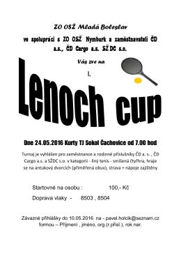 lenoch cup - OSŽ Mladá Boleslav