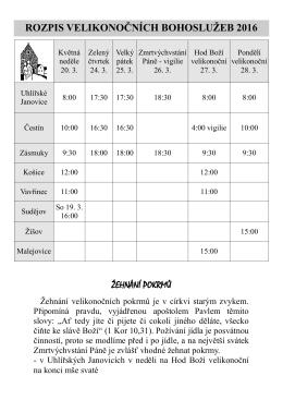 to - Římskokatolická farnost Uhlířské Janovice