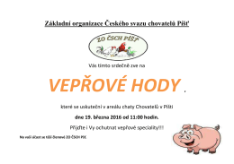 Základní organizace Českého svazu chovatelů Píšť