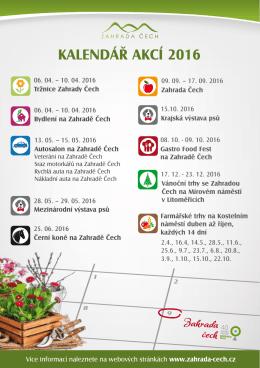 Kalendář akcí 2016_A5