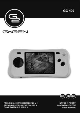 GoGEN GC 400 O oranžová