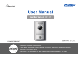 User Manual - UltraMaster