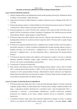 """""""Wielkanocne Stroiki za Zakupy w Nowym Rynku""""."""