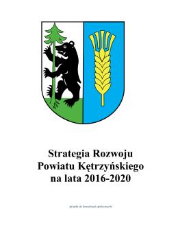 Strategia Rozwoju Powiatu Kętrzyńskiego na lata 2016-2020