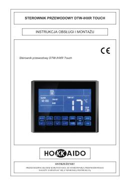 sterownik przewodowy DTW-IHXR Touch