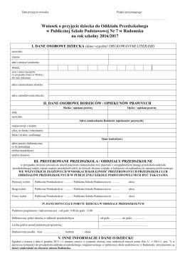 Wniosek_do oddziału przedszkolnego.