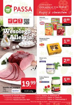 10.03.2016 - Grupa Polskich Sklepów Passa