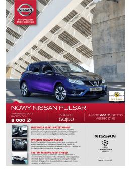 Cennik - Nissan Odyssey