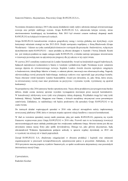 List Prezesa SA-R 2015