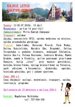 Oferta - sp12.gniezno.pl