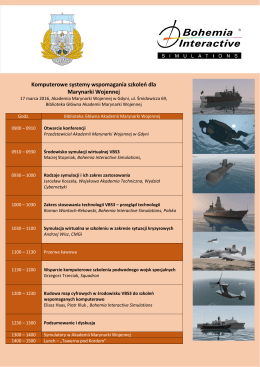 Komputerowe systemy wspomagania szkoleń dla Marynarki Wojennej