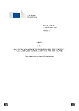 Annex 6 - Statewatch