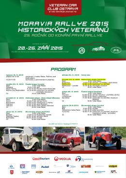 moravia rallye 2015 historických veteránů - Petřkovice