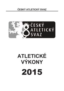 ATLETICKÉ VÝKONY - Spartak Praha 4