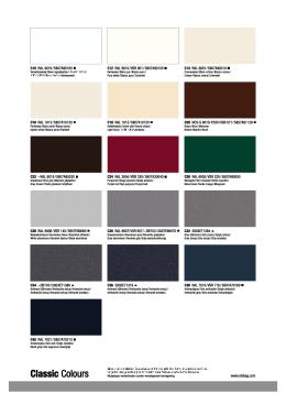Základní barvy konstrukce