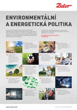 Environmentální a Energetická politika