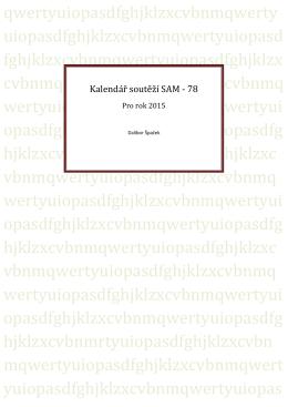Kalendář akcí ve formátu PDF