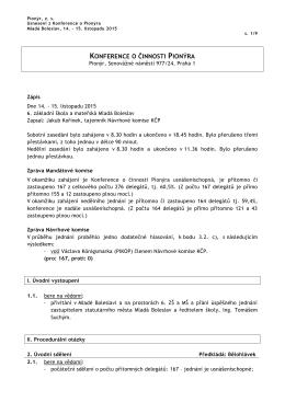 usnesení KČP