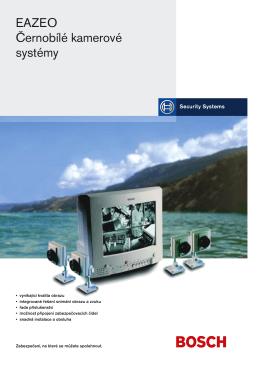 EAZEO Černobílé kamerové systémy