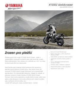 Produktový list - Motocentrum BARTH