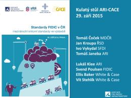 Kulatý stůl ARI-CACE 29. září 2015