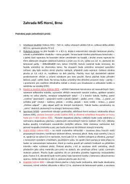Podrobný popis prvků - Úřad městské části Brno