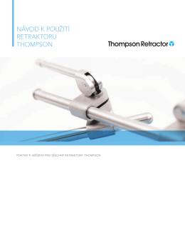 návod k použití retraktoru thompson