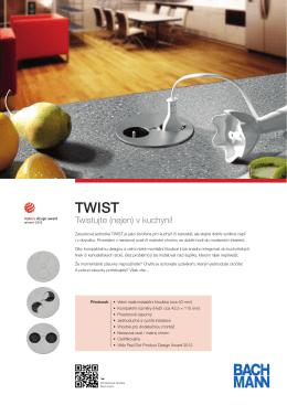 Twistujte (nejen) v kuchyni!