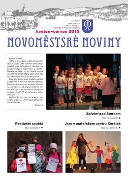 NOVOMĚSTSKÉ NOVINY - Nové Město pod Smrkem