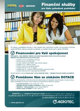 Finanční služby