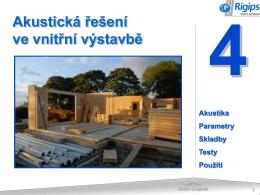 Jak vyhovět akustickým předpisům ve vnitřní výstavbě