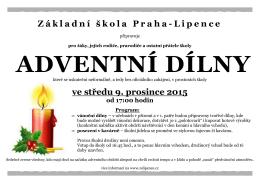 Plakát ke stažení - Základní škola Praha