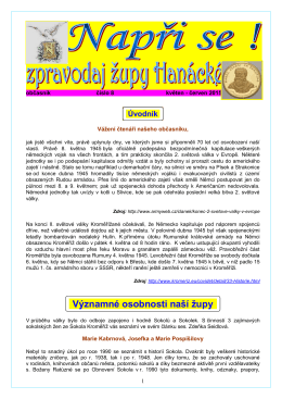 Významné osobnosti naší župy - Sokolská župa Hanácká