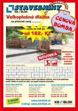 CENOVÁ BOMBA - KB - BLOK systém, sro