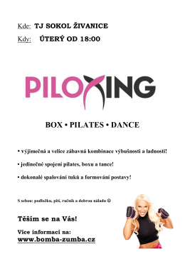 BOX • PILATES • DANCE