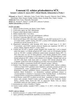 Usnesení ze schůze 21. 2. 2015 (ve formátu pdf)