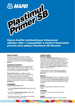 Plastimul Primer SB Plastimul Primer SB
