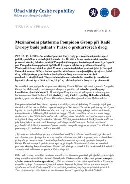 Úřad vlády České republiky - Drogy