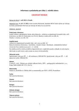 informace pro 1.rocniky_graficky design