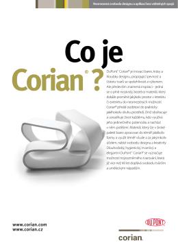 Co je Corian