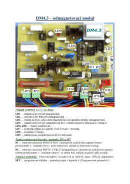DM4.3 – odmagnetovací modul