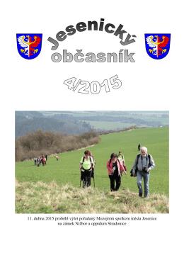 Číslo 04/2015 - Město Jesenice