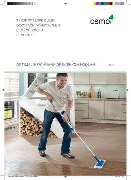 Osmo optimální ochrana dřevěných podlah 2015