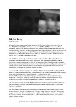 Press Bio (cz)