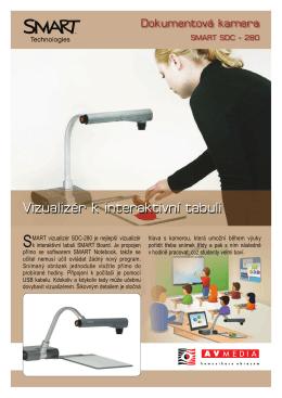Vizualizér k interaktivní tabuli