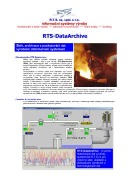 RTS-DataArchive (ke stažení ve formátu PDF)