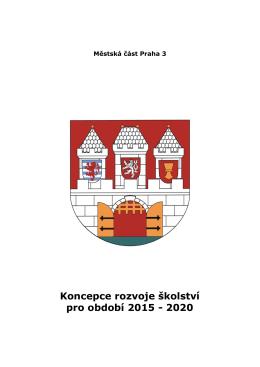 Návrh Koncepce rozvoje školství pro období 2015 – 2020 ve verzi