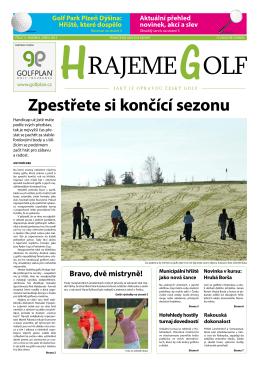 Stáhnout PDF - Hrajeme golf